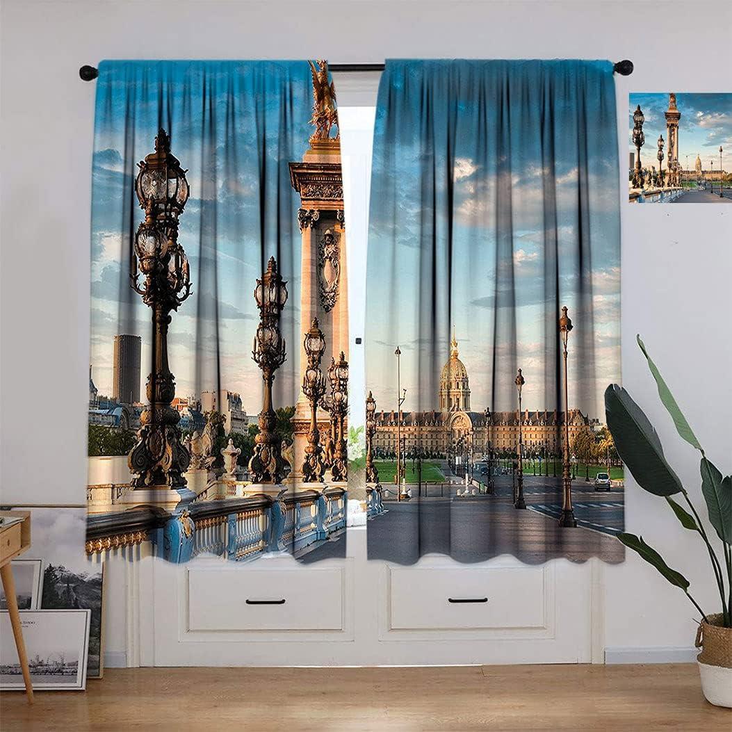 Max 86% OFF Paris Decor Curtains Pont Max 90% OFF Alexandre Bridge Spanning Iii Th 1896