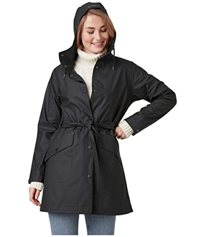 Helly Hansen Kirkwall II Raincoat (Black 1) Women