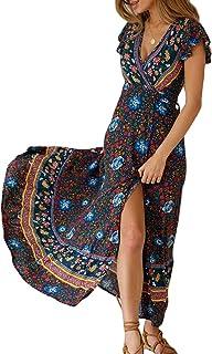 238b3f755 Amazon.fr : robe longue boheme - 46 / Femme : Mode