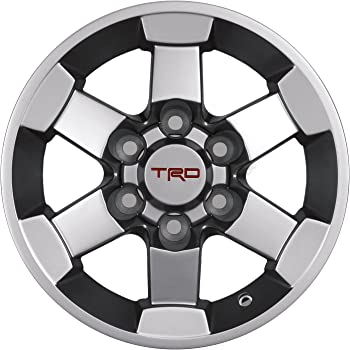 Amazon Com Genuine Trd 16 Inch Alloy Wheel For Toyota Tacoma And Fj Cruiser New Oem Automotive