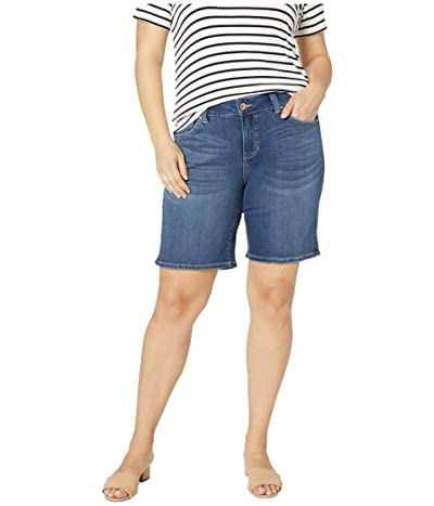 Jag Jeans Plus Size Carter Girlfriend Shorts (Mystic) Women