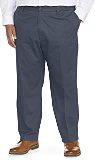 Amazon Essentials Men's Big & Tall Loose-fit Wrinkle-Resistant Flat-Front Chino Pant fit by DXL fit by DXL
