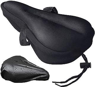 Bike Seat Cushion,Bike Saddles Cover, HOME-MART Gel Bike Seat Cover- Extra Soft Gel Bicycle Seat - Bike Saddle Cushion wit...