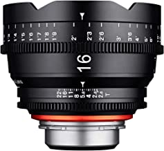 Samyang XEEN - Objetivo (16 mm, T2.6 FF, Cine Micro 4/3 MFT)