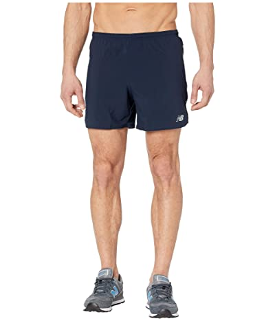New Balance Impact Run 5-Inch Shorts (Eclipse) Men