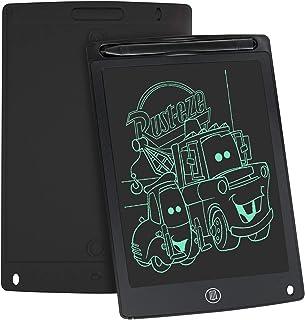 WOBEECO Tavoletta Grafica LCD Scrittura, 8.5 Pollici Lavagna da Disegno Digitale con Pulsante di Cancellazione e Blocco, E...
