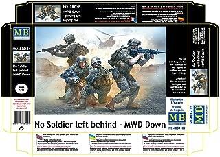 NO SOLDIER LEFT BEHIND - MWD DOWN 1/35 MASTER BOX 35181