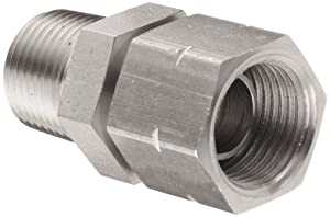 Brennan 1404-08-08-SS Stainless Steel Pipe Fitting, Adapter, 1/2
