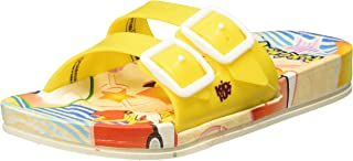 Kidsfun Pokemon Unisex Kid's KF0277C Yellow Flip-Flops-8.5 KidsUK 26 EU (KF0277CYLYL0026)