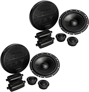 "Hifonics ZS65C Zeus 6.5"" 2 Way Car Audio 400W Component Speaker Systems (2 Pack) photo"