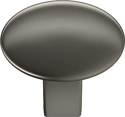 12.7 mm Pack of 10 3008-2-B 3000 Series Plastic Round Shaft Round Knurled 6.35 mm Knob 3008-2-B