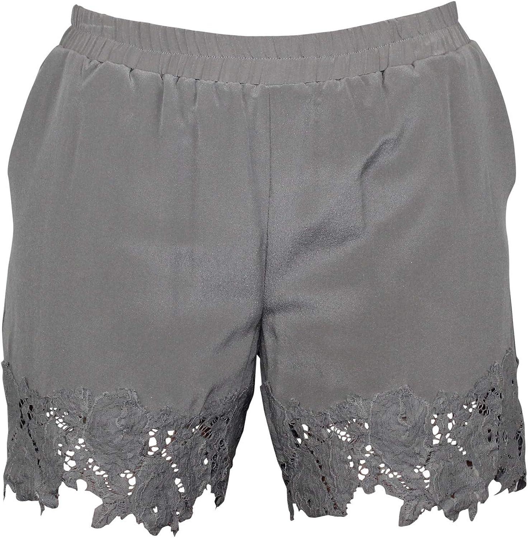 gold Hawk Womens Julia Lace Shorts Extra Small, Small, Medium
