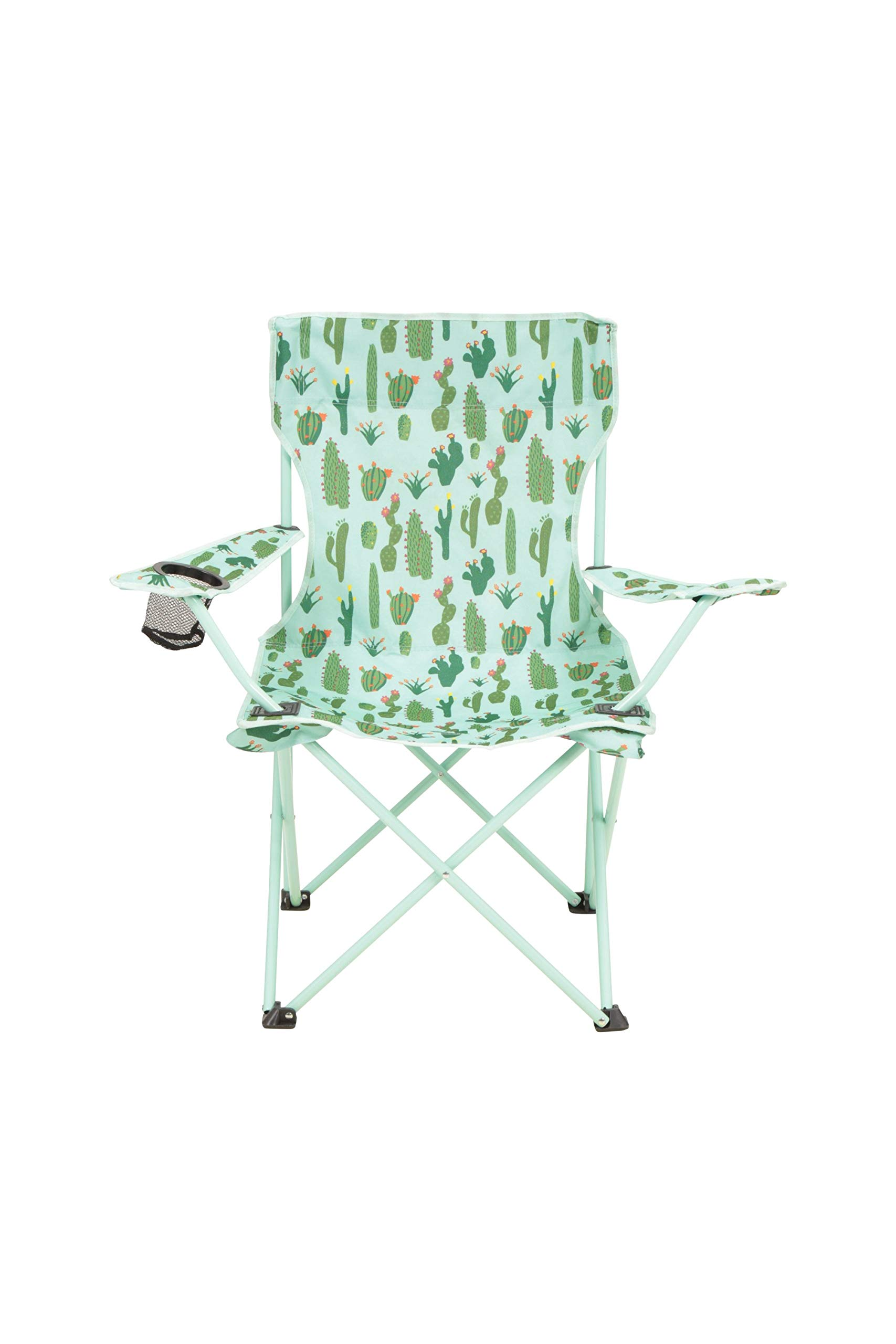 Outdoor Trail Compact Folding Camping Chair Beach Heavy Duty Frame Shoulder Travel Bag Festival Cup Holder Polka Dot Pattern