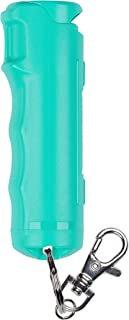 SABRE RED Pepper Gel Spray Keychain for Women – Gel is Safer – Maximum Police Strength OC, Flip Top for Quick Access, Easier to Use Finger Grip, Long Range 12-feet (4M), 25 Bursts – Supports RAINN