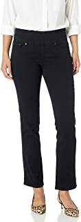 Women's Petite Peri Pull On Straight Leg Jean