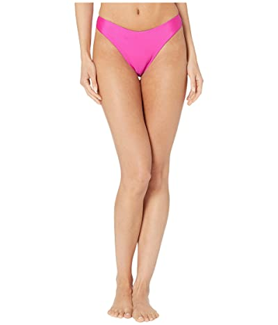 Luli Fama Cosita Buena High Leg Brazilian Bottoms (Poppin Pink) Women