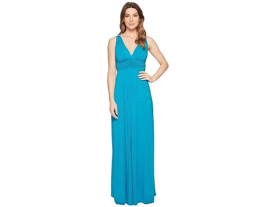 Tart Adrianna Maxi Dress (Enamel Blue) Women