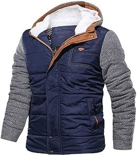 Men Hoodie,Mens Winter Cardigan Zipper Hoodie Winter Warm Outwear Tops Sweater Blouse Coats for Men Teen Boys