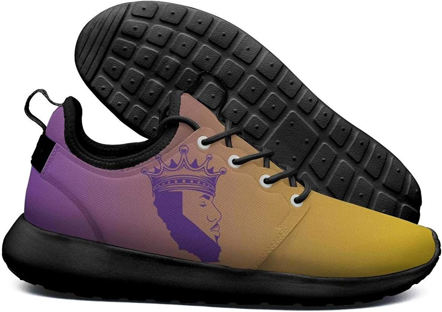 Womens Roshe Two Lightweight Purple_Basketball_23_Crown_Kings_LA Coll Road Running mesh shoes