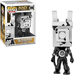 Funko Pop Games: Bendy and The Ink Machine - The Projectionist Collectible Figure, Multicolor
