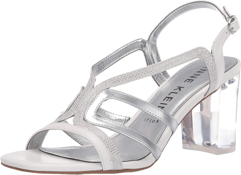 Anne Klein Women's Heeled Sandal Pump