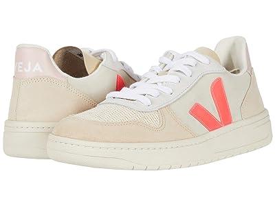 VEJA V-10 (Multicolor/Natural/Rose/Fluo) Athletic Shoes