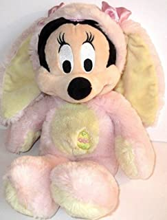Disney Exclusive 12 Inch Plush Minnie Mouse Bunny [PINK & YELLOW Costume] by Mickey Mouse