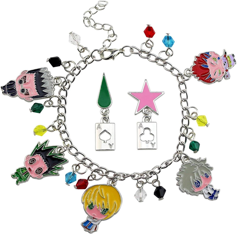 YiYuYiHua Bracelet Anime Max Sale special price 58% OFF Cartoon Hisoka Charm Bracelets Kurapika