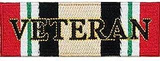 EagleEmblems PM3188 Patch-Iraqi Freed.Ribb. Veteran (4.25'')