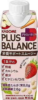 カゴメ Plus Balance 栄養サポートスムージー 濃厚ストロベリーMix (紙パック)250g ×12本