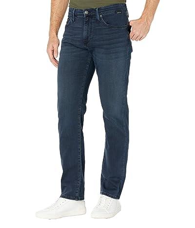 Mavi Jeans Zach Straight in Blue/Black Athletic