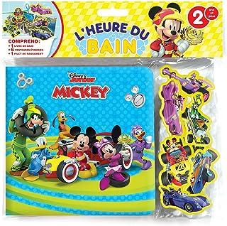 Phidal Français Mickey Bath Time, French Version