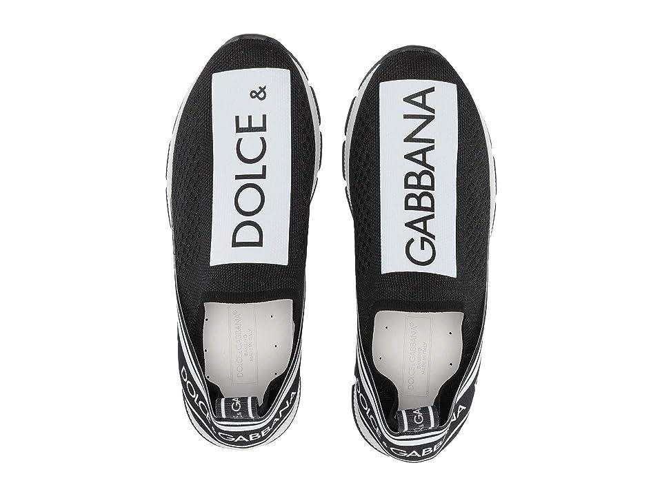 Dolce & Gabbana Kids Jersey Slip-On Sneaker (Little Kid/Big Kid) (Yellow) Kid