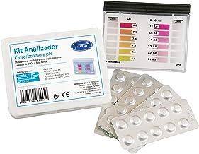 Tamar Test Kit DPD1 Cloro/Bromo y pH, medidor de Cloro/Bromo y pH para piscinas, En Pastillas