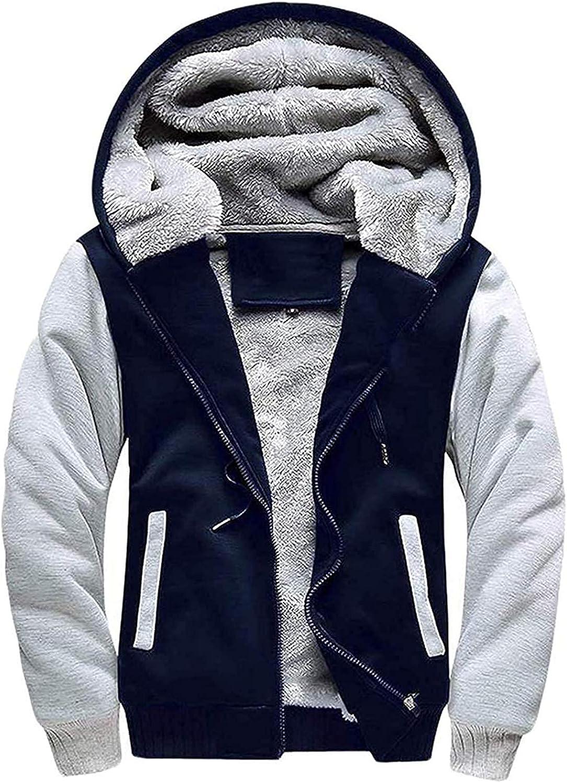 IGEEKWELL Mens Fleece Hoodies Heavyweight Los Angeles Mall 25% OFF Full Zip Up Sweatshirt