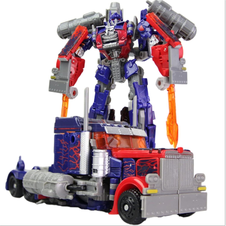LUSTAR Transformers Juguete-Optimus Prime Bumblebee Transformers Figura De Acción Figura De Anime Modelo De Dibujos Animados Juguete Coleccionables para Niños Edades 3 O Más (8 Pulgadas) B