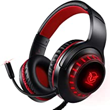 Pacrate Gaming Headset for PS4 Xbox One PC with Noise Cancelling Microphone Stereo..