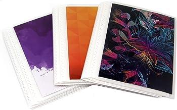 "Mini Footprints Photograph Album Scrapbook 6/""x4/"" with 36 sides Hofmann new"