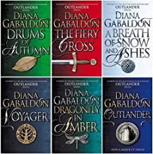 Outlander Series Collection 6 Books Set By Diana Gabaldon (Outlander, Dragonfly In Amber, Voyager, Drums Of Autumn, The Fi...