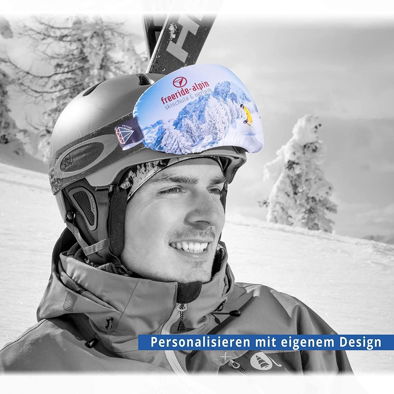 alpine vju: el/ástica de microfibra funda protectora de gafas unisex. - Protecci/ón para gafas de esqu/í
