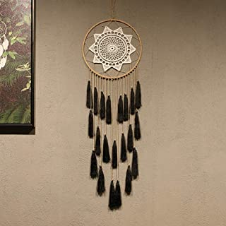 Macrame Dream Catchers for Bedroom – Tassel Wall Hanging Handmade Dreamcatchers..