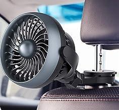 JULABO Durable Ventilateur de Voiture à Crochet Stable USB chargeant Un Petit Ventilateur 12v 24v Mini Ventilateur électri...