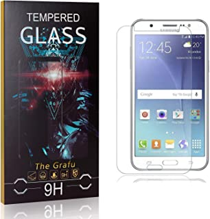 Anti Scratch Tempered Glass Screen Protector for Samsung Galaxy J2 2016 Drop Fall Protection 3 Pack 9H Hardness The Grafu Screen Protector for Galaxy J2 2016