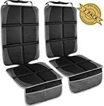 Car Seat Protector,(2 Pack) Large Auto Car Seat Protectors for Child Baby Safety..