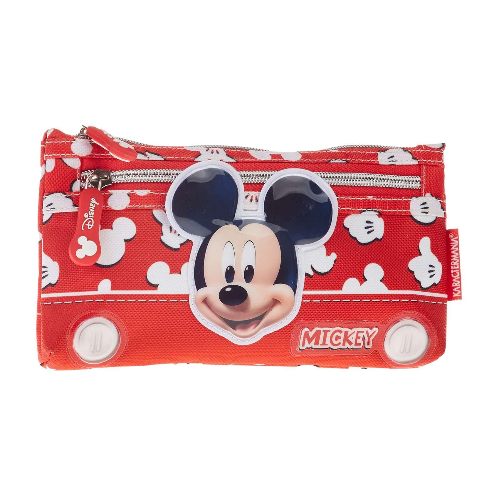 Mickey Mouse Estuche portatodo Plano, Color Rojo, 22 cm (Karactermanía 30996): Amazon.es: Juguetes y juegos