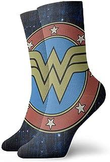Yuanmeiju calcetines de punto Wonder Woman Unisex Sport Socks Men & Woman's Teen Pattern Sox