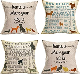 Best home is where the dog is pillow Reviews