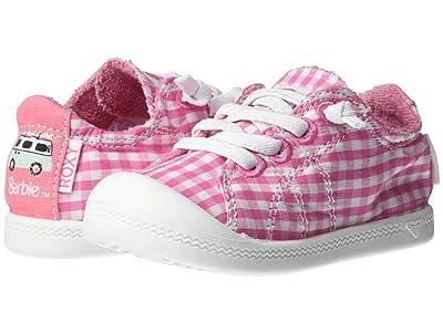Roxy Kids Barbietm x Bayshore (Toddler) (White/Pink) Girl