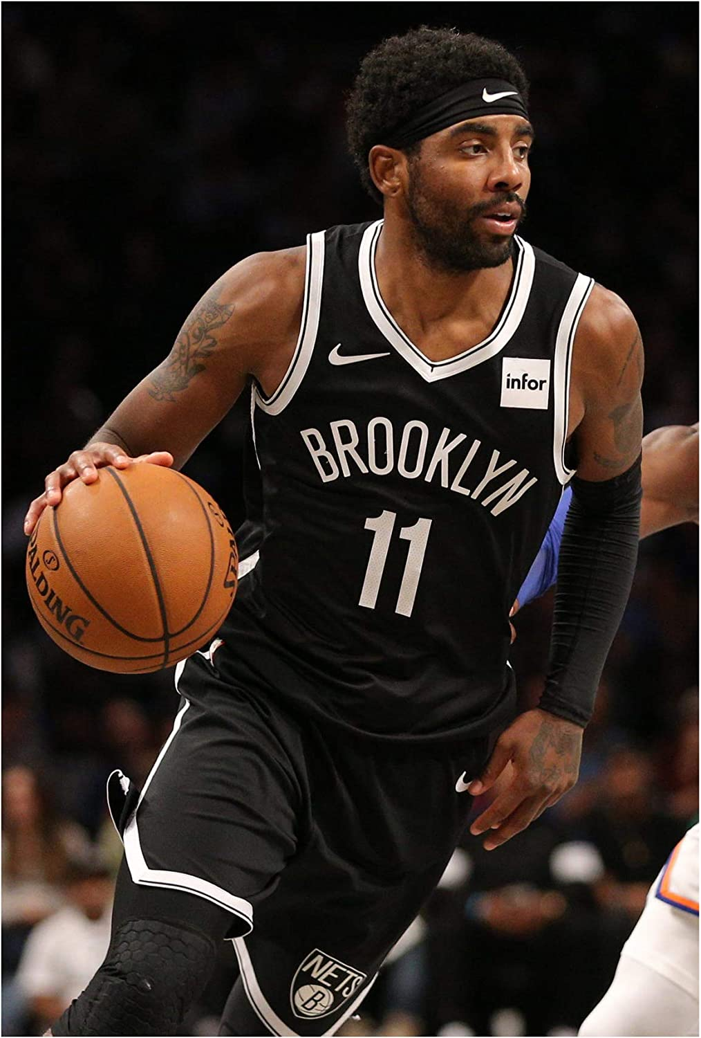 Amazon.com: Fullfillment Posters Kyrie Irving Poster Brooklyn Nets Glossy  Print Photo Wall Art Limited Celebrity Sports Athlete NBA Basketball Sizes  8x10 11x17 16x20 22x28 24x36 27x40#1 (27x40 inches): Posters & Prints