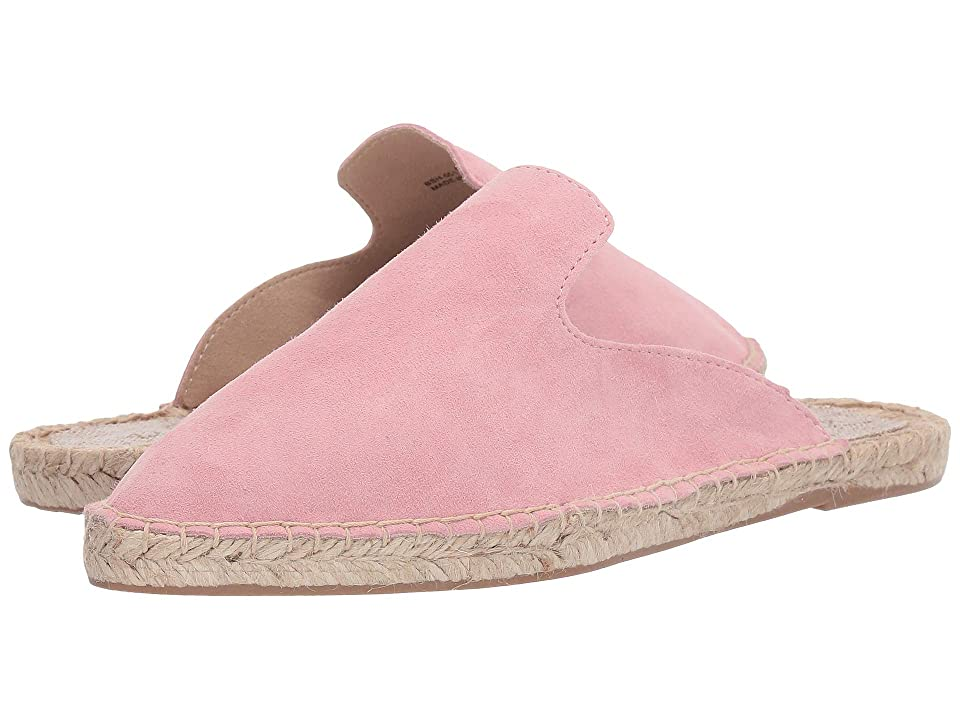 Image of 42 GOLD Bermuda (Pink Suede) Women's Flat Shoes